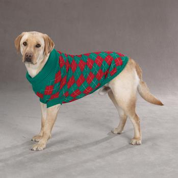 Argyle Dog Sweaters