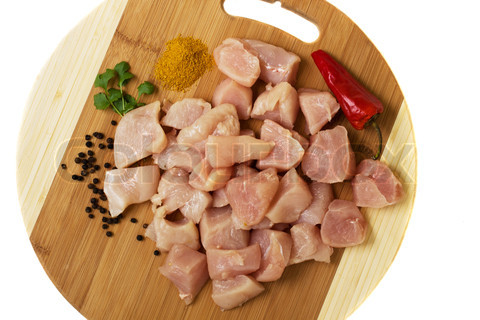 Chicken meat for labradors